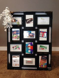 Silentauctionideas silent auction a different way to display gift gift card basket for silent auction fundraisers negle Images