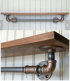 pipe shelves for cat walks