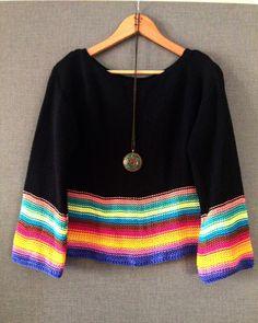 Fabulous Crochet a Little Black Crochet Dress Ideas. Fabulously Georgeous Crochet a Little Black Crochet Dress Ideas. Easy Knitting Patterns, Knitting Designs, Sewing Patterns, Cardigan Au Crochet, Black Crochet Dress, Crochet Sweaters, Pullover Mode, Make Your Own Clothes, Crafts