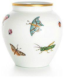 Tiffany & Co.Butterfly Vase in Limoges Porcelain traditional vases