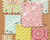Design Your Own Custom Crib Baby Bedding - Kumari Garden by Dena Designs