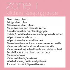 Zone 1 - kitchen and sleeping areas