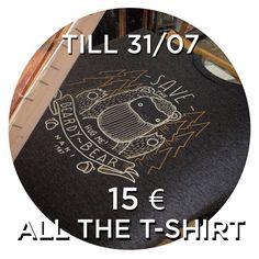 T-SHIRT SALES !  till 31/07 all the shirts 15 ! NOW link on my- b i o - etsy store  #naki #nakillustration #illustration #shoponline #etsy #diy #handmade #tshirt #design #grey #blue #sailor #bear #beard #bearman #man #slaes #italy #summer by naki_tcnk
