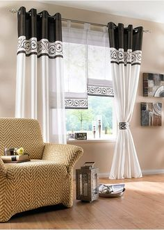 Small Sitting Rooms, Window Dressings, Bed Sheets, Windows, Curtains, Home Decor, Style, Diy Curtains, Sheer Curtains