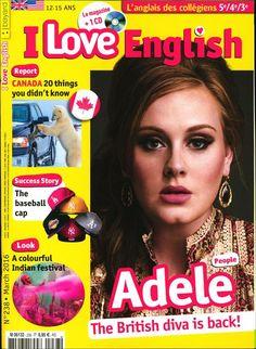 I Love English - N°238 - Adèle - Canada