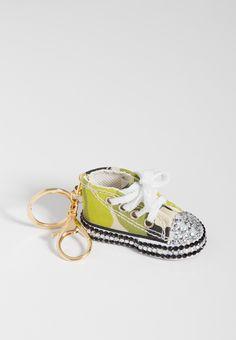 camo print sneaker handbag charm with rhinestones (original price, $10.00) available at #Maurices