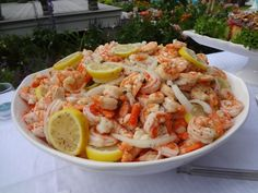 Hors d'oeuvres - Southern-Style Marinated Shrimp Catering by Debbi Covington - Beaufort, SC www.cateringbydebbicovington.com 843-525-0350