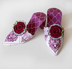 Stacy Cohen: Paper Shoes