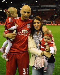 Literally seconds of internet research failed to solve the mystery of whether these kids belong to Jonjo Shelvey, and whether the woman standing next to him is his partner. Kickettes? Get on it, would you?