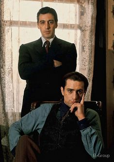 A gallery of The Godfather: Part II publicity stills and other photos. Featuring Al Pacino, Robert De Niro, Diane Keaton, Francis Ford Coppola and others. I Movie, Movie Stars, The Godfather Part Ii, Godfather Movie, Don Corleone, By Any Means Necessary, Black White Photos, Celebs, Celebrities