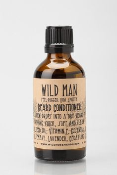 Wild Man Beard Conditioner   Urban Outfitters