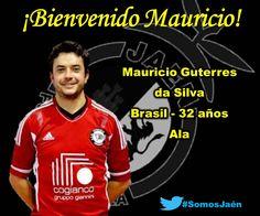 El ala hispano-brasileño Mauricio Guterres, nuevo jugador del Jaén Paraíso Interior