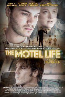 The Motel Life (2012) Una pareja de hermanos de clase trabajadora que se aloja en un motel en la ciudad de Reno se ve implicada en un fatal accidente de coche del que salieron huyendo. http://encore.ehu.es/iii/encore/record/C__Rb1807366__Smotel%20life__Orightresult__X5?lang=spi&suite=cobalt