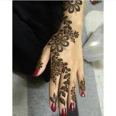 💜 من أجمل نقوشآت الحناء The most beautiful henna designs 💜 Hena Designs, Unique Mehndi Designs, Beautiful Henna Designs, Foot Henna, Henna Mehndi, Henna Art, Arabic Henna, Mehendi, How To Do Henna