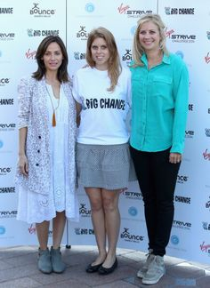 Princess Beatrice of York Holly Branson and Natalie Imbruglia attend the Virgin STRIVE Challenge at the 02 arena News Photo 453285954