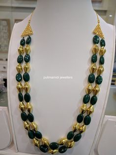 Dholki malas with beads – boutiquedesignerjewellery.com