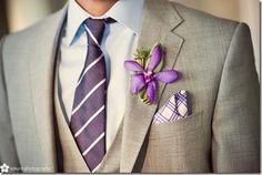 El #novio de gris y lila / The #groom in grey and lilac