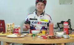 How Much a Pro Cyclist Eats -Pro cyclists ride their bikes a lot and thus burn an absurd amount of calories. For optimal performance these calories must be replaced with optimal nutrients and of sufficient quantity.