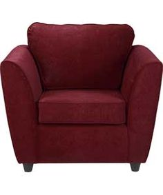Buy Eleanor Fabric Chair - Wine at Argos.co.uk, visit Argos.co.uk to shop online for Armchairs and chairs