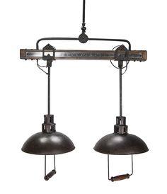 Luminarias de techo vintage industrial Apollo.