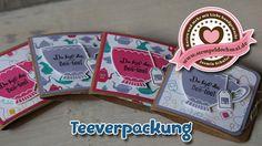 Tutorial: Teeverpackung mit Stampin' Up! Produkten