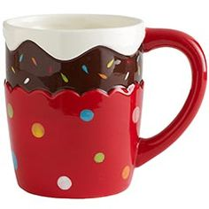 Cupcake Mug! This is just way too cute!