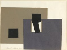 Gertrude Greene Untitled (1940-C), 1940 (Collage on paper, 8 1/4 x 11 inches) Spanierman Gallery, NYC