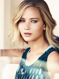 Soft Natural--Jennifer Lawrence photographed by Mikael Jansson, Vogue, December 2015.