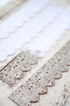 And the quest continues for the perfect piece of lace to make a crown out of...