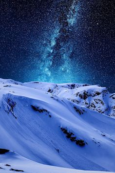 Beautiful star lit sky (photo by Sondre Eriksen) Beautiful Sky, Beautiful Landscapes, Beautiful World, Beautiful Scenery, Beautiful Things, Landscape Photography, Nature Photography, Night Photography, Landscape Photos
