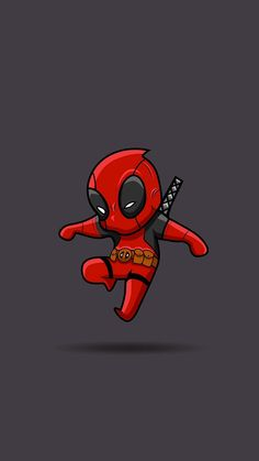 Wallpaper Android Samsung - Deadpool - Wallpapers World Deadpool Chibi, Deadpool Art, Deadpool Photos, Watercolor Wallpaper Iphone, Iphone Wallpaper Glitter, Wallpaper Iphone Disney, Wallpaper Wallpapers, Boys Wallpaper, Trendy Wallpaper