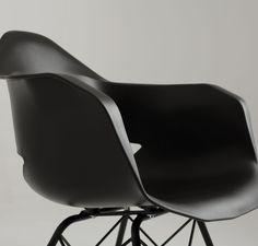 Designerskie czarne krzesło producenta CustomForm #TwojeMeble #TwojeKrzesło #Krzesło #MATCH-ARMS #Metal #Black #CustomForm