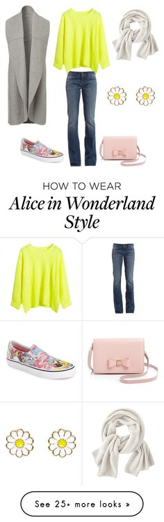 """Casual Thanksgiving Day Outfit."" by kritika-bahadur on Polyvore featuring 7 For All Mankind, Vans, Ted Baker, Wrap and Accessorize"