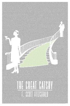 Litographs sells these fantastic posters made entirely of the words from the book it's illustrating!