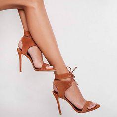 Schutz Wrapped Sandal Heels