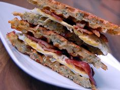 Cassie Craves: Savory Waffle Breakfast Sandwiches MOUTH WATERING!!!