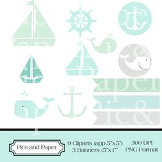 Free for a limited time- Nautical Cliparts