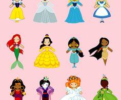 princesses!