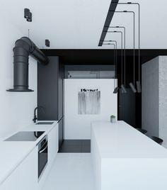 RiverS Apartment by Emil Dervish - DOMM DESIGN