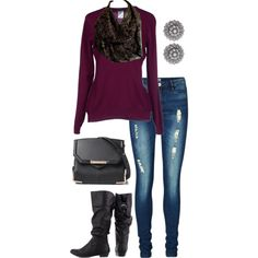 Designer Clothes, Shoes & Bags for Women Infinity Scarf Outfits, Style Inspiration, Shoe Bag, Lace, Casual, Polyvore, Collection, Shopping, Shoes