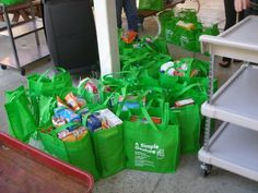 A Simple Gesture is a community food collection program.....you can do it in your community to help your food banks feed the hungry.  asimplegesture.org.  Take a look!!