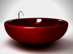 wooden tubs   ... wooden bathtub – it is round and red. Munai Bathtub by Padouk wood