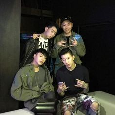 Loco, Gray, Simon D and Jay Park - Tom Greyhound