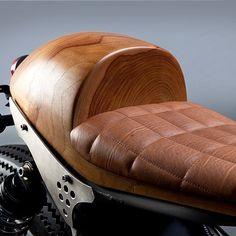 OVERBOLD MOTOR CO. — Got wood? The @arxaperiment Honda CB700 Cafe Racer...
