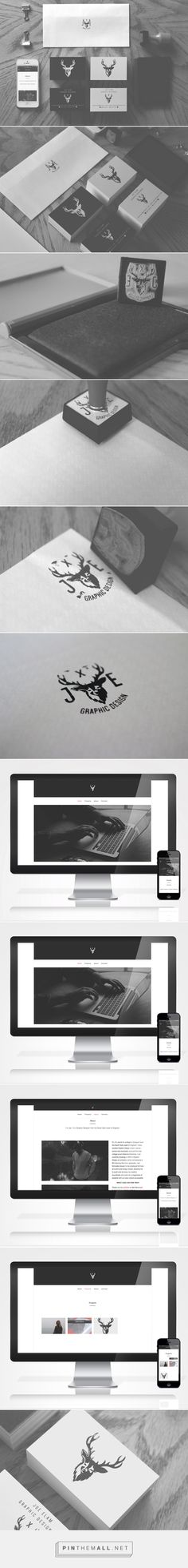 Personal Identity // Self Branding on Behance - created via http://pinthemall.net