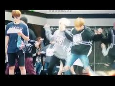 "OUR BOYS ARE DANCING TO SUJU'S ""SORRY SORRY""... - min yoongi jjjjmbb"