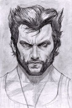Marvel Avengers 580260733214642612 - Wolverine – Hugh Jackman by ArtOfIDAN Source by Pencil Art Drawings, Art Drawings Sketches, Marvel Art, Marvel Avengers, Marvel Heroes, Comic Books Art, Comic Art, Wolverine Art, Logan Wolverine