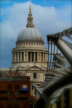St Pauls Cathedral from the South Bank in Colour photograph by John Colley http://fineartamerica.com/featured/st-pauls-from-the-south-bank-in-colour-john-colley.html