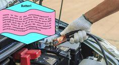 Batteri Efter en lång, kall vinter är bilens batteri kanske inte i bästa skick. Kalla temperaturer påverkar de kemiska processerna i batteriet, och kan leda till en nedgång i prestanda. Innan du börjar planera någon helg aktivitet med barnen, bör du ta bilen till en mekaniker att få batteriet testat, eller göra det själv med hjälp av en batteritestare. #dubbdäck