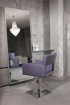 Amelia styling chairs. Salon Ideas from Ayala salon furniture. Modern salon design.